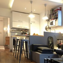 Appartement 30 m², Paris 18ème
