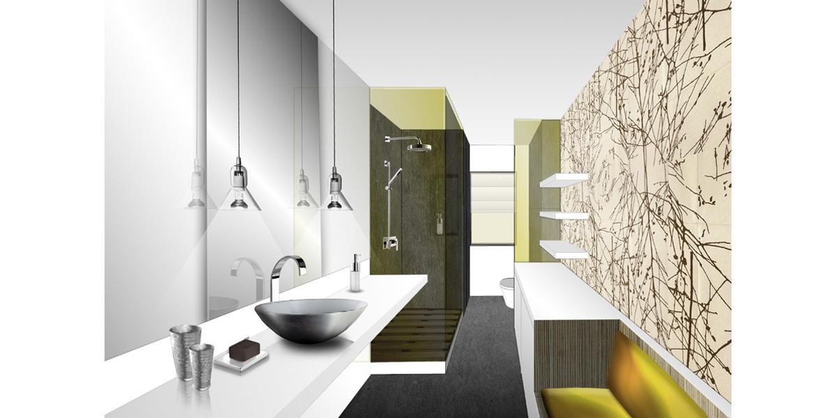 Chambre d'ami : salle de bain