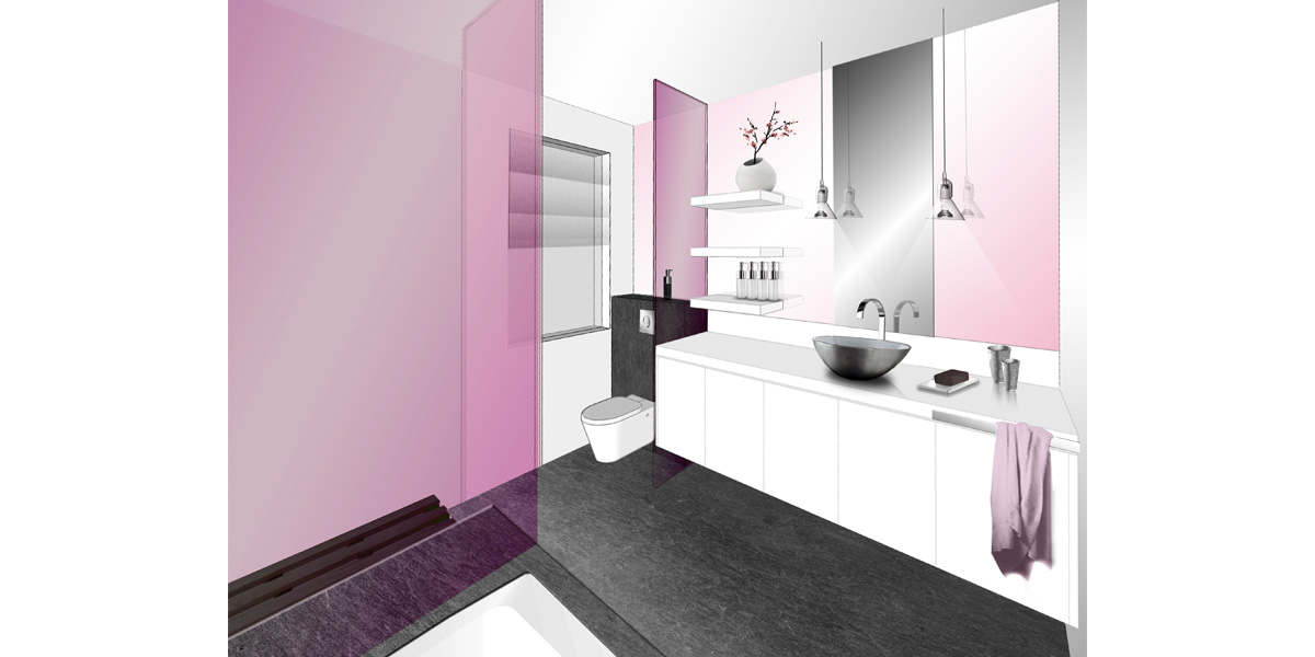 Chambre principal : salle de bain