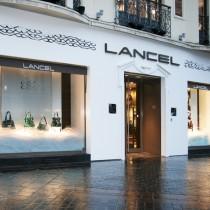 Boutique de maroquinerie de luxe