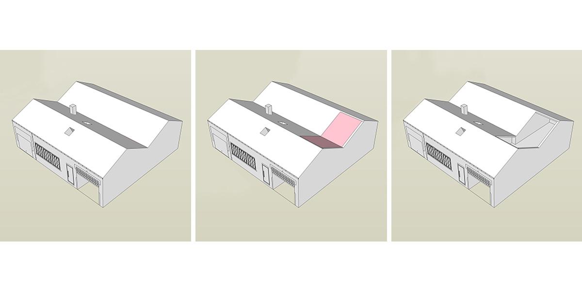 schéma toiture